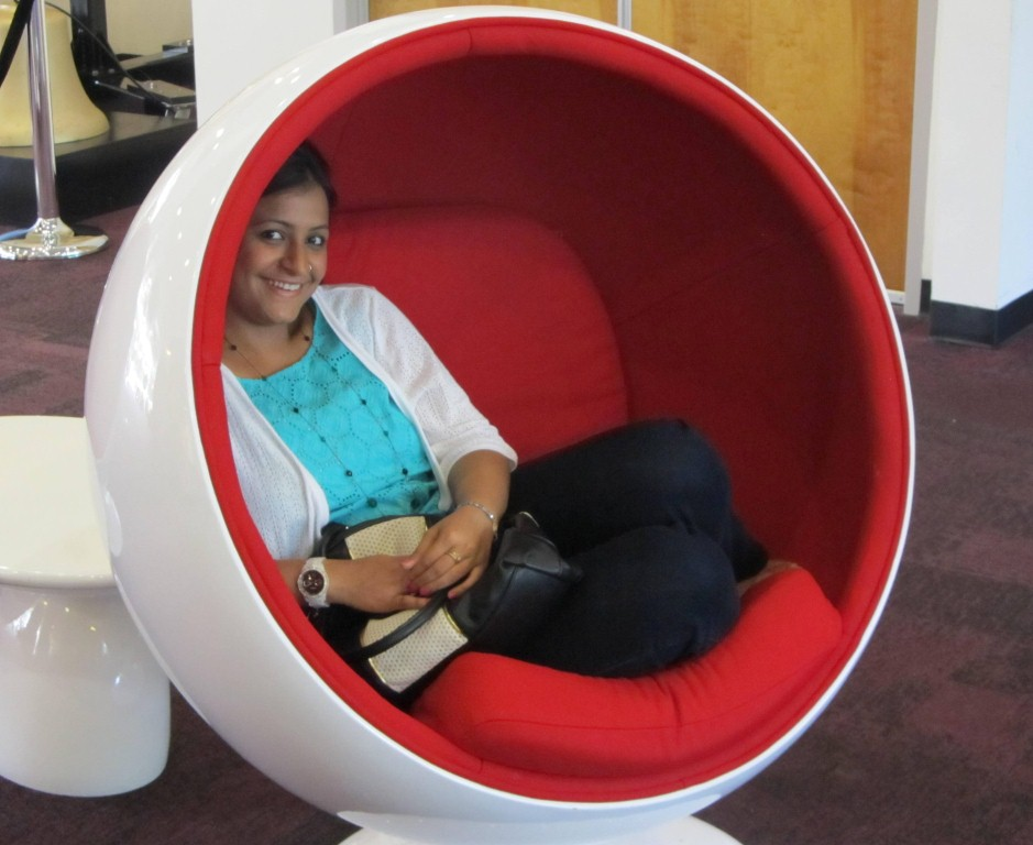 Balls chairs - love them!