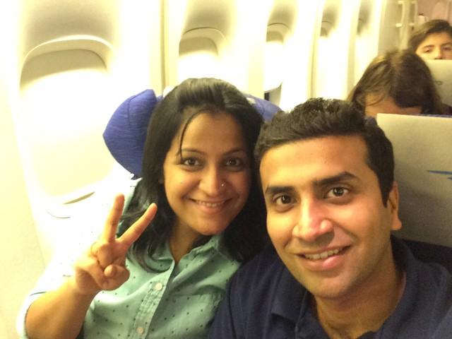 India trip begins