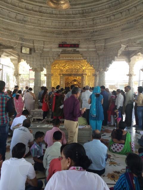 Ghantakarna Bhagwaan temple at Mowdy in Ahemdabad