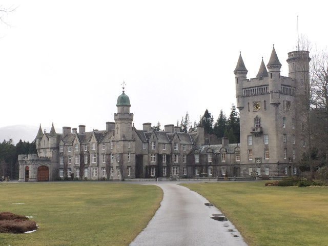 Balmoral palace -Queen's summer residence