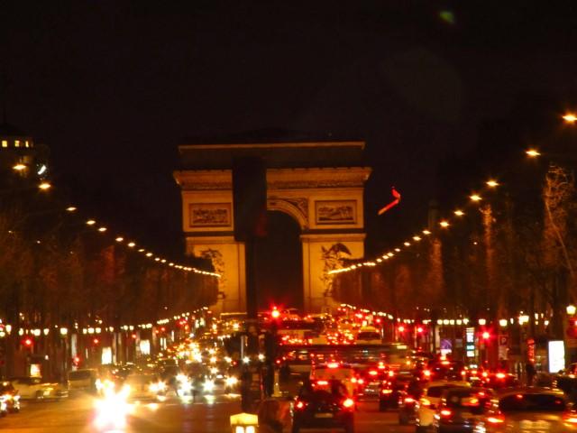 Arc de triomphe & Champs Elysess